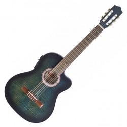 Класическа китара STAGG C546TCE-BLS – с активна електроника