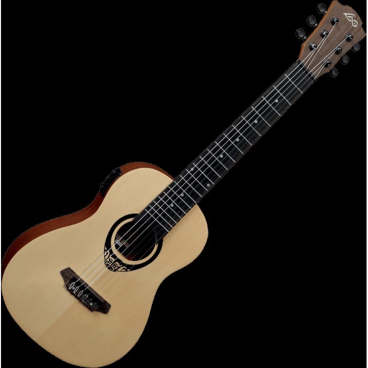 Електро-акустична мини китара LAG TRAVEL GUITAR TKT150E