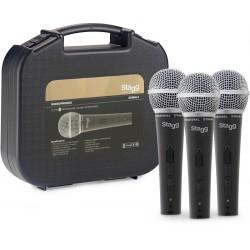 Три микрофона в комплект аксесоари SDM50-3