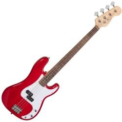Бас китара HORSEMAN TRD червена by Soundsation