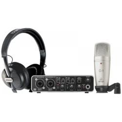 Комплект за студио U-PHORIA STUDIO PRO слушалки + звукова карта + микрофон