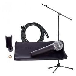 Микрофон SM58LCE bundle със стойка, калъф и кабел комплект