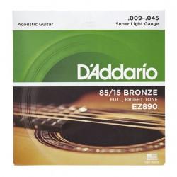 Струни за акустична китара D`ADDARIO EZ890