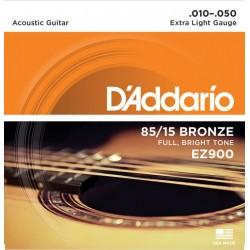 Струни за акустична китара D`ADDARIO EZ900