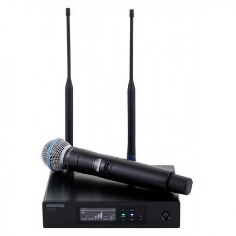 Дигитален безжичен микрофон QLXD24E/B58 by SHURE