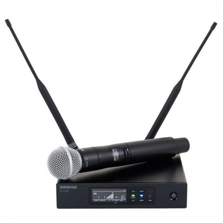 Безжичен микрофон QLXD24E/SM58 дигитален by SHURE