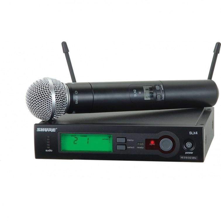Безжичен микрофон SLX24E/SM58 by SHURE