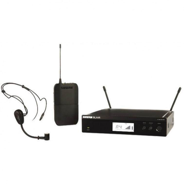 Безжичен микрофон BLX14RE/PG30 хедсет / за глава by SHURE