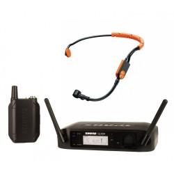 Безжичен микрофон GLXD14E/SM31-Z2 хед сет / за глава / за аеробика, танци и фитнес инструктори by SHURE