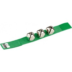 Звънчета гривна зелени перкусия NINO961GR
