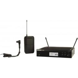 Безжичен микрофон BLX14RE/B98 щипка с приемник by SHURE