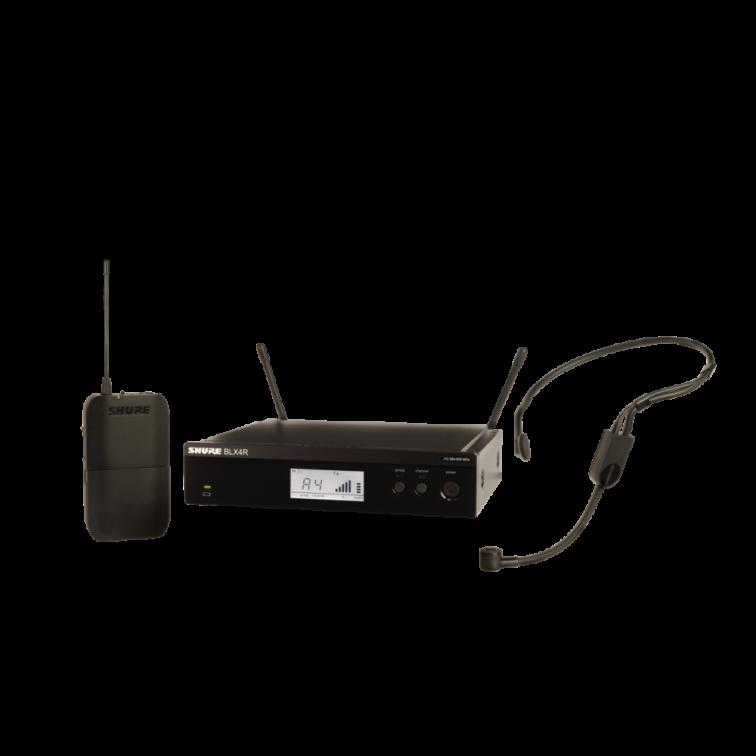 Безжичен микрофон BLX14RE/P31 - PGA31 хед сет / за глава by SHURE