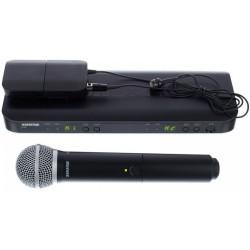 Безжичен микрофон BLX1288E/CVL комбиниран by SHURE