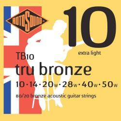 Струни за акустична китара / TB10
