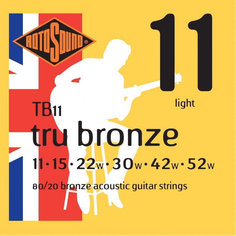 Струни за акустична китара / TB11
