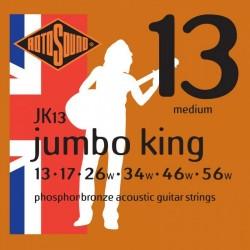 Струни за акустична китара / JK13 Jumbo King