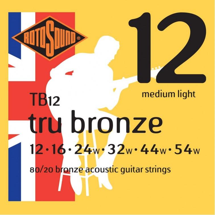 Струни за акустична китара / TB12