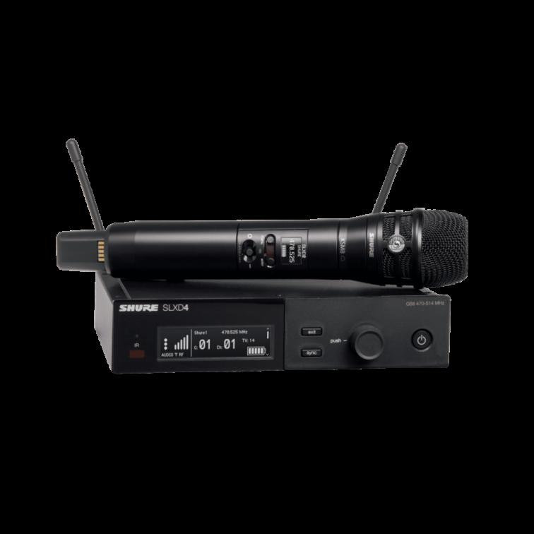 Дигитален безжичен микрофон с KSM8B SLXD24E/KSM8B