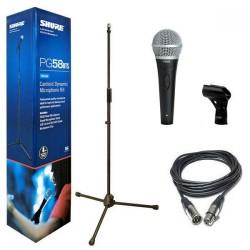 Микрофон PGA58-BTS със стойка, кабел и държач