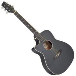 Електро-акустична китара left hanf SA35 ACE-BK LH за лява ръка