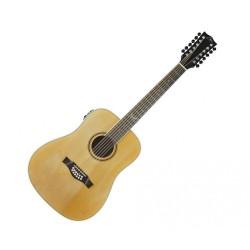 12 струнна електро-акустична китара NXT D XII EQ натурална Eko