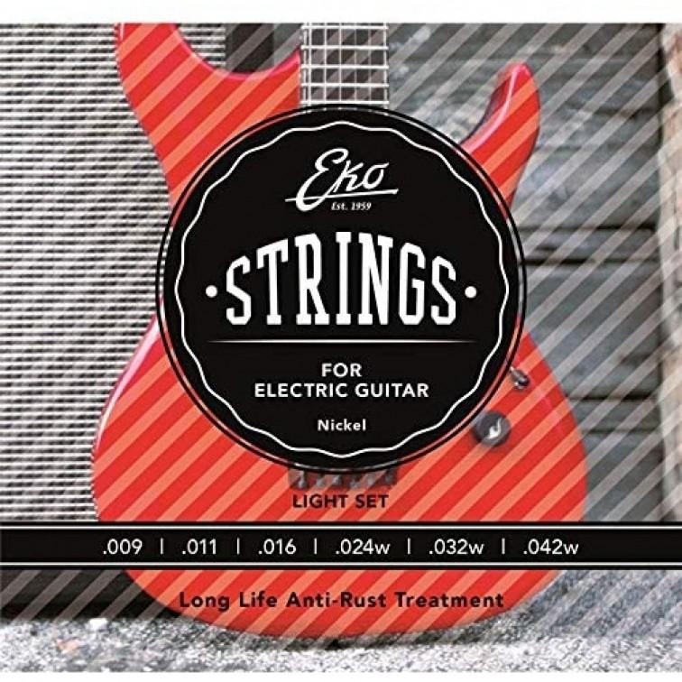 Струни за електрическа китара 09-42 Light EKO STRINGS