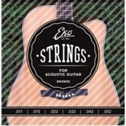 Струни за акустична китара EKO STRINGS Acustica Bronze 11-52 M бронз