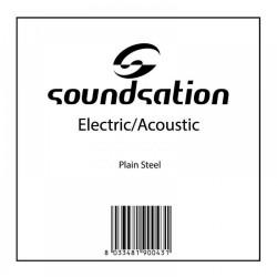 Струна единична за китара - акустична / електрическа / струни