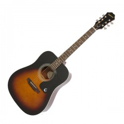 Акустична китара Epiphone DR-100 Vint. Sunburst Ch Hdwe
