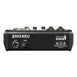 Смесителен пулт ITALIAN STAGE IS 2MIX4XU аналогов миксер