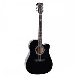 Електро-акустична китара YOSEMITE DNCE BK