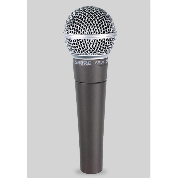 Професионален микрофон SHURE SM58LCE