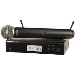 Безжичен вокален микрофон / BLX24RE/SM58