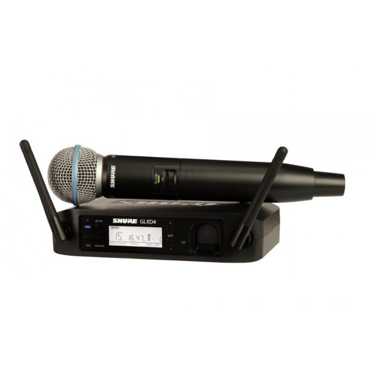 Безжичен вокален микрофон дигитален / GLXD24E/B58-Z2