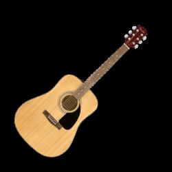Акустична китара Fender FA-115 Pack V2 - в комплект с калъф, колан, струни и перца
