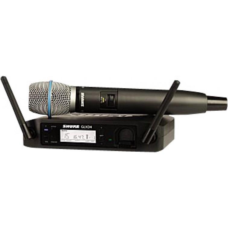 Дигитален вокален безжичен кондензаторен микрофон / GLXD24E/BETA87A-Z2