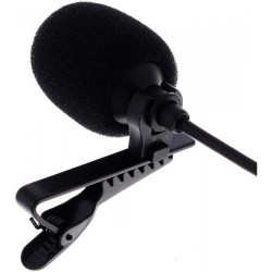Микрофон тип брошка CVL-B C-TQ със щипка / lavalier