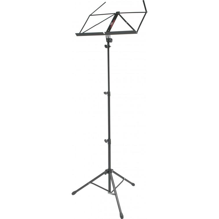Стойка за ноти STAGG MUS-A4 BK – стояща тип пулт
