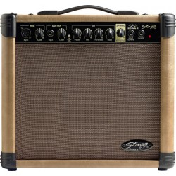 Комбо за акустична китара STAGG 20 AA R