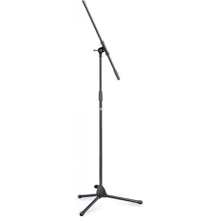 Висока стойка за микрофон STAGG MIS-0822BK