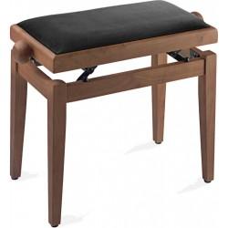 Луксозен стол за пиано STAGG PB40 CHM VBK
