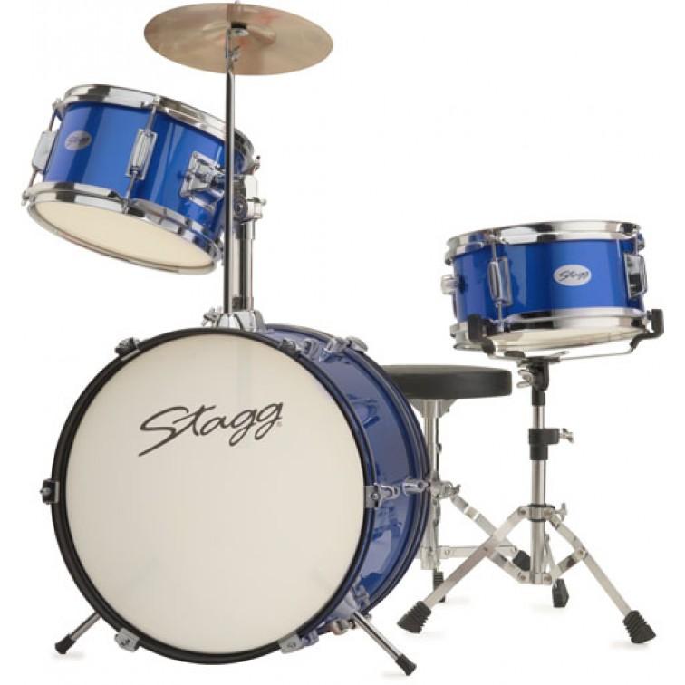 Детски барабани акустични STAGG TIM JR 3/16 BL
