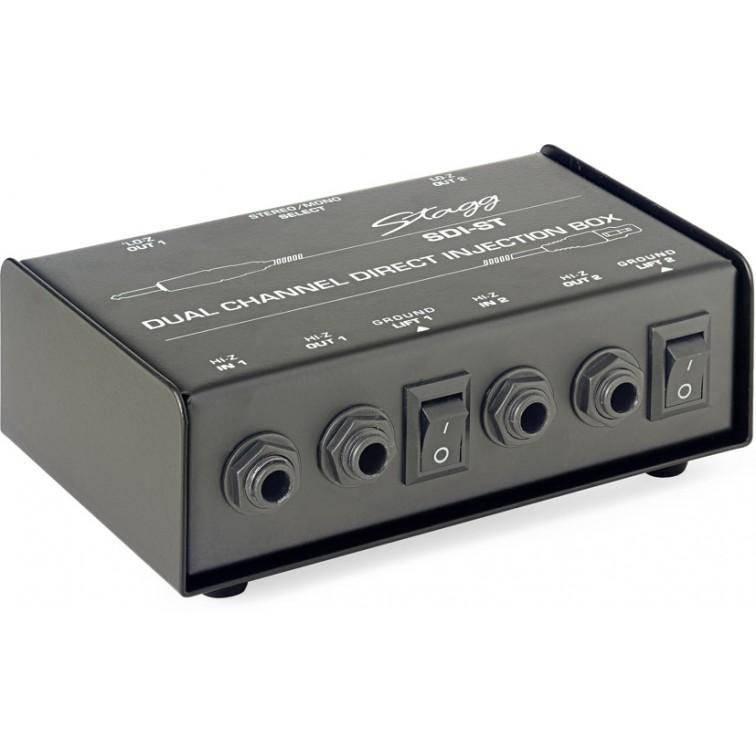 Двуканален SDI-ST d.i.box на STAGG