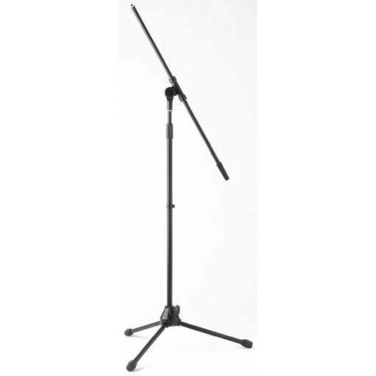 Подсилена стойка за микрофон STAGG MIS-2022BK