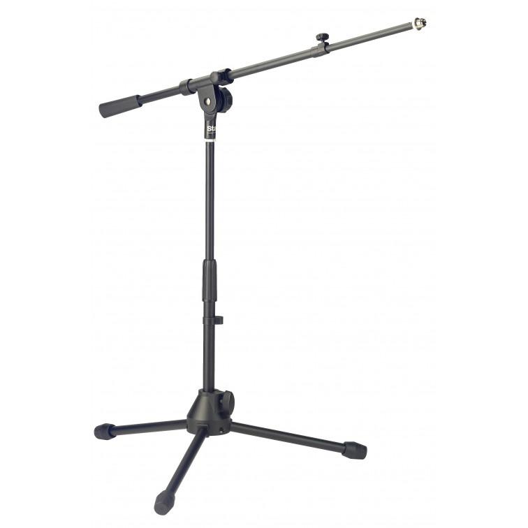Стойка за микрофон нисък профил STAGG MIS-2004BK