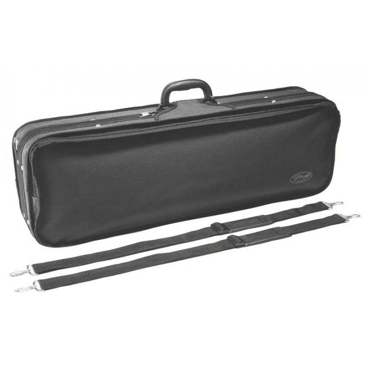 Мек правоъгълен кейс за цигулка  4/4 STAGG HVB4-X