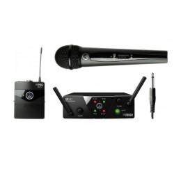 Вокално-инструментален двоен безжичен микрофон AKG