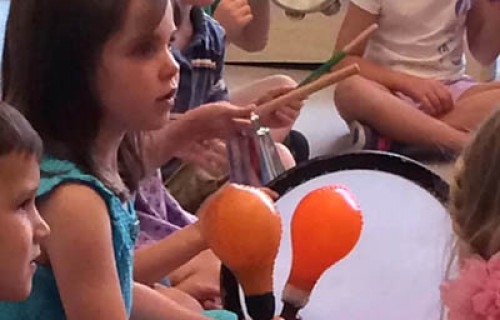 Музикални инструменти за детска градина