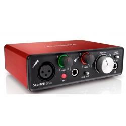 Китарен аудио интерфейс с USB FOCUSRITE Scarlett Solo 2nd Gen