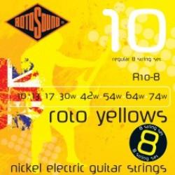 Струни за осемструнна китара ROTOSOUND R10-8
